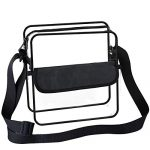 BAGAIL Clear Purse NFL &PGA Approved Cross-Bo...