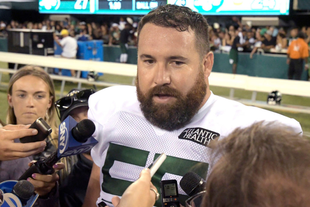 What's keeping Ryan Kalil from fully assimilating...