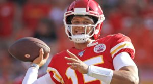 One drive, one touchdown for Patrick Mahomes –...