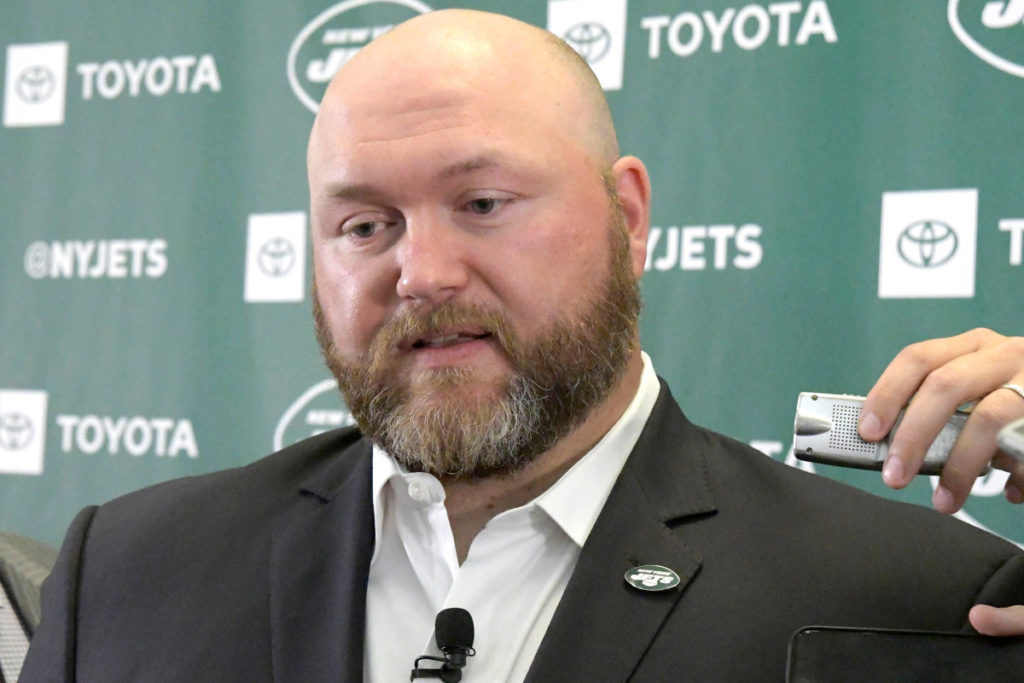 Jets GM Joe Douglas 'fired up' for what happens...