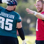 Dallas Goedert, Lane Johnson to sit out remaining...