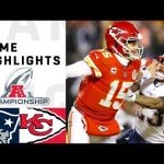 Patriots vs. Chiefs AFC Championship Highlights |...