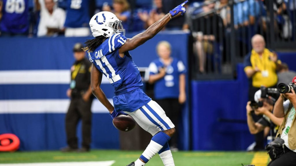 Colts' Deon Cain Makes Pro Football Focus'...