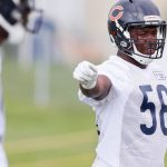Roquan Smith enjoying his first training...