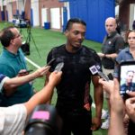 Giants' Sam Beal, Darius Slayton not practicing on...