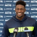 "DK Metcalf proclaims his knee ""100 percent"" –..."