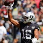 Josh Jacobs, Tyrell Williams limited again; Trent...