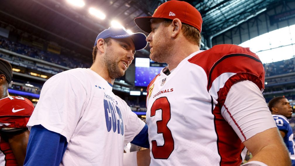 Carson Palmer feels (and has felt) Anderw Luck's...