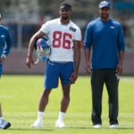 Giants' Darius Slayton, Garrett Dickerson unlikely...
