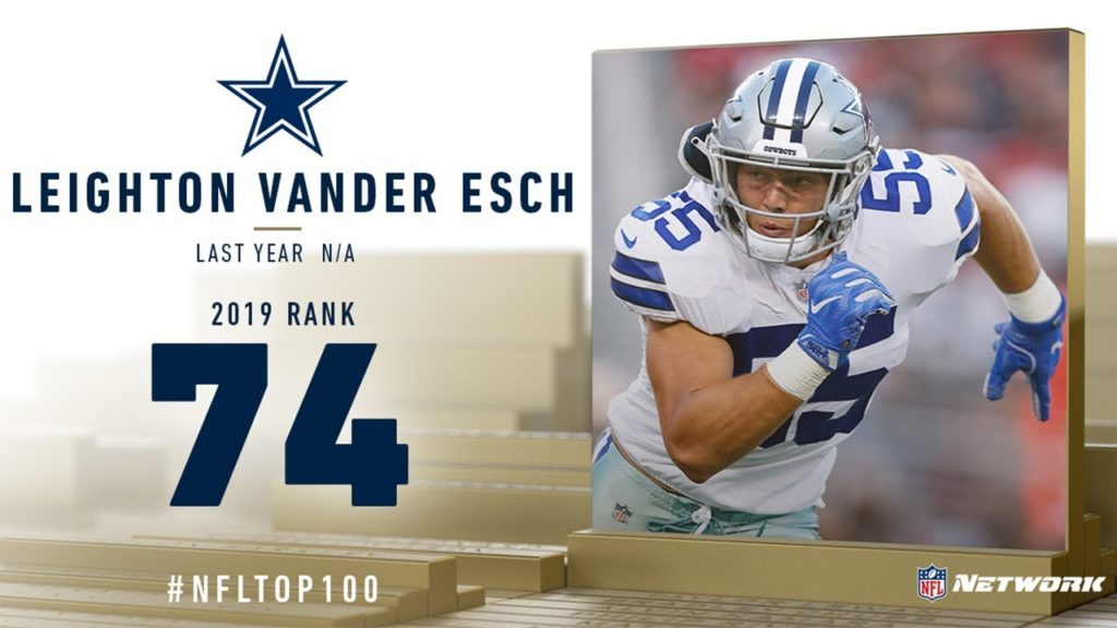 #74: Leighton Vander Esch (OLB, Cowboys) | Top 100...