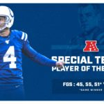 Adam Vinatieri Named AFC Special Teams Player Of...