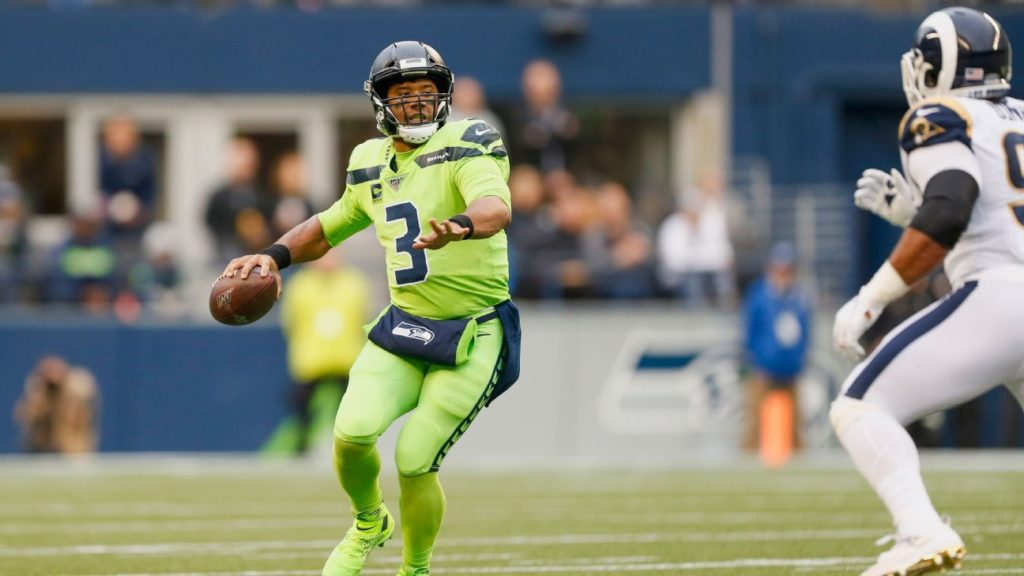 Russell Wilson's torrid start has him playing at...