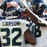 Seahawks RB Chris Carson for NFL's FedEx Ground...
