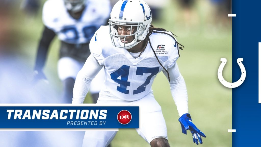 Colts Elevate Cornerback Shakial Taylor To Active...