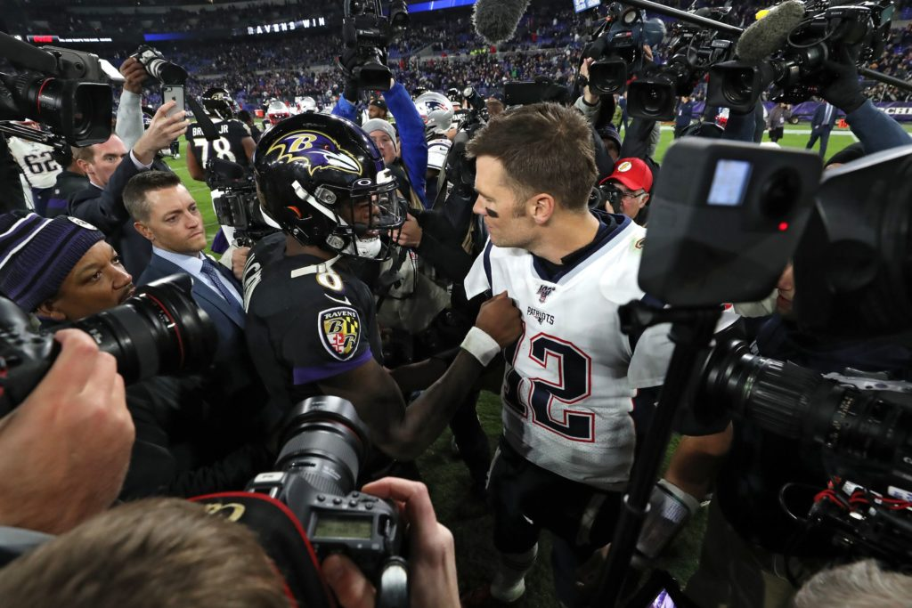 Pats offensive struggles continue in Baltimore