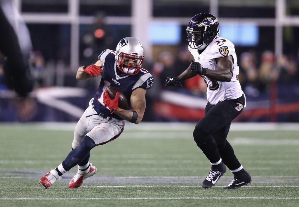 New England Patriots vs. Baltimore Ravens live...