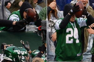 Jets' Brian Poole wants stolen football back after...