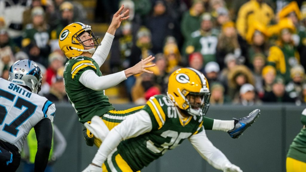Packers punter JK Scott looking to 'let it loose'