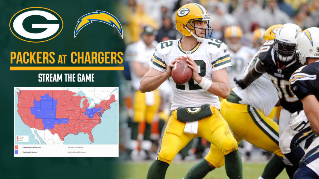 How to stream, watch Packers-Chargers game on TV