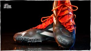 Select cleats to be auctioned for charity in 2019...