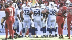 The Indianapolis Colts saw a two-touchdown lead...