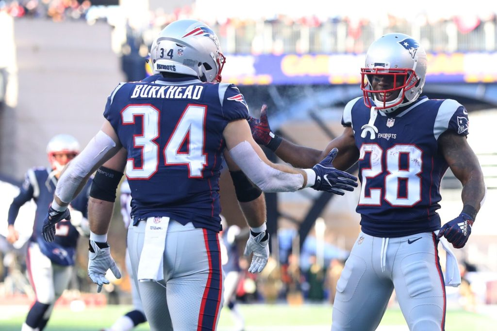 New England Patriots in a good place with running...
