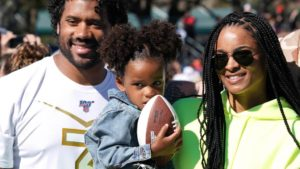Russell Wilson and Ciara announce they are...