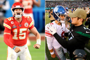 How to compare to Patrick Mahomes