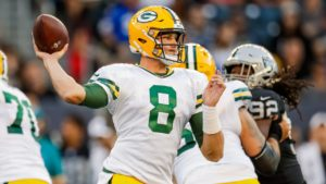 Tim Boyle growing into Packers' No. 2 quarterback...