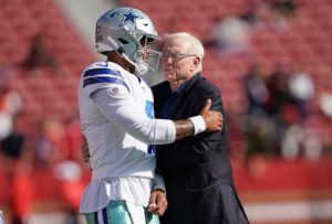 Is letting Dak Prescott play out his final year a...