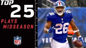 Top 25 Plays of 2018 (Midseason Edition) | NFL...