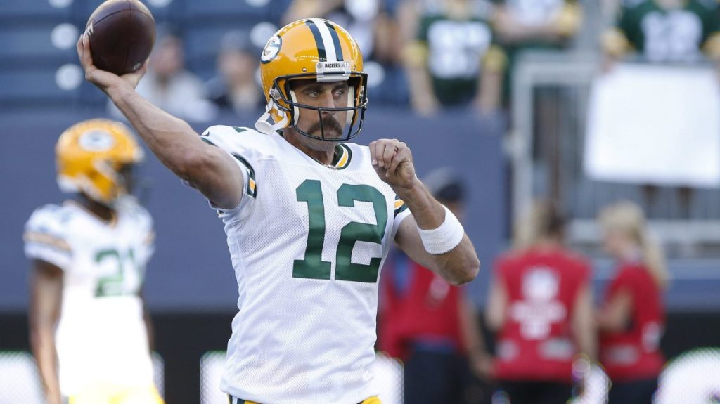 Aaron Rodgers admits he didn't play because of...