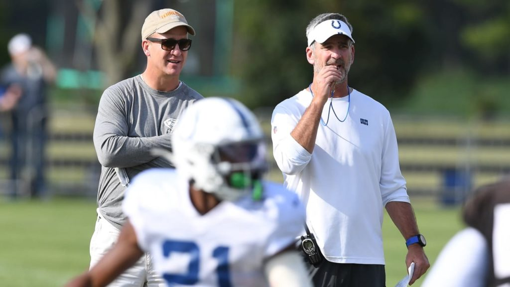 What Peyton Manning Told The Colts' Coaching Staff