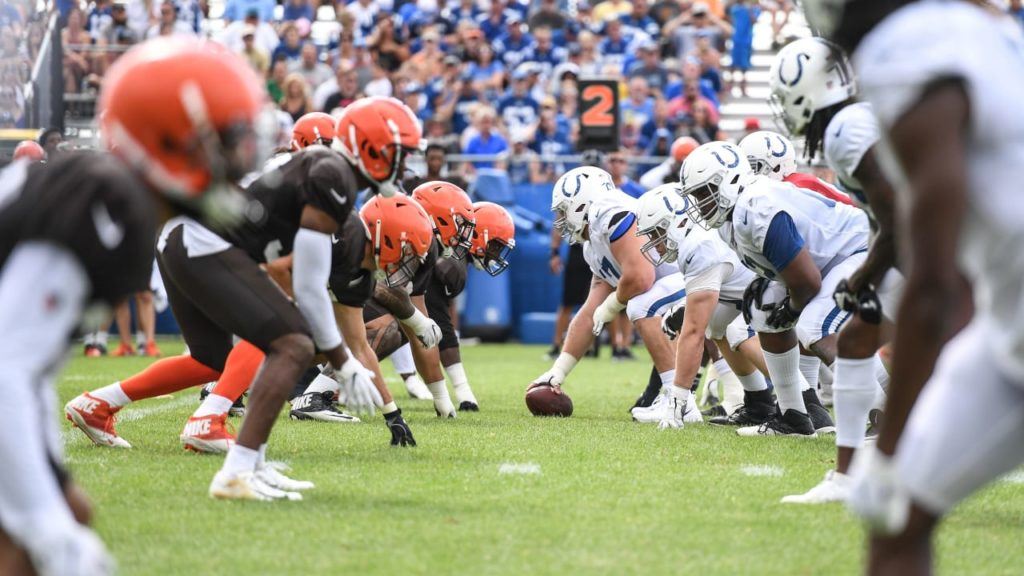 2019 #ColtsCamp Notebook, Day 15: Browns Come To...