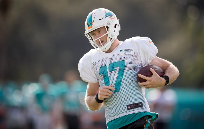 Miami Dolphins' new cast of skill players starts...