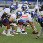 New York Giants' Chad Slade emerging as candidate...