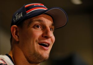 Rob Gronkowski doesn't sound like a man coming...