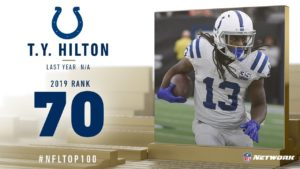 #70: T.Y. Hilton (WR, Colts) | Top 100 Players of...