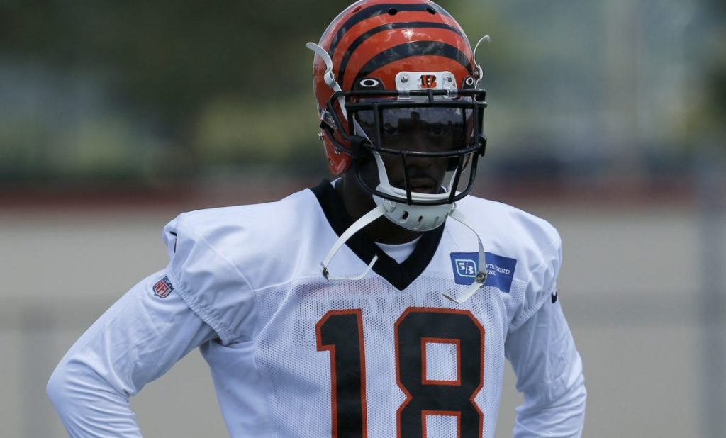 A.J. Green still in walking boot – ProFootballTalk