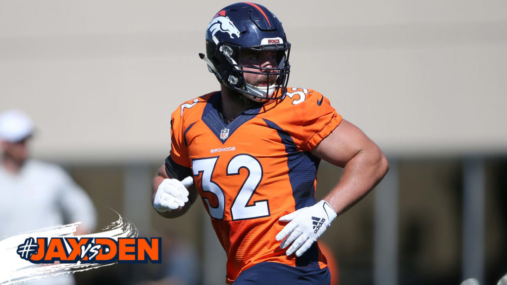 Broncos list five players as questionable for...