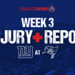 Giants' Cody Latimer out vs. Buccaneers, Bennie...