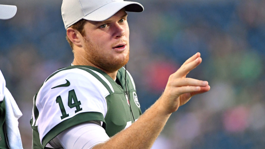 Sam Darnold's status for game vs. Eagles still...