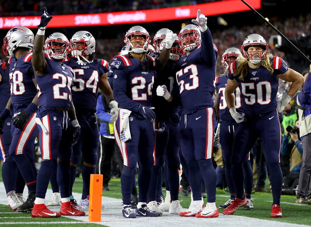 Just admit the Patriots D is good, no matter who...