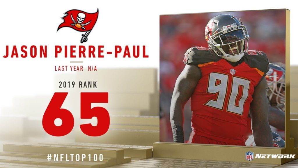#65: Jason Pierre-Paul (DE, Buccaneers) | Top 100...