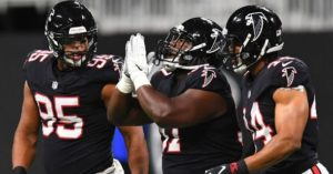 Dan Quinn wants Falcons' defense to get big and...