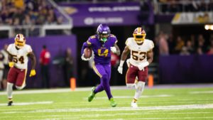 Stats That Stood Out: Redskins at Vikings