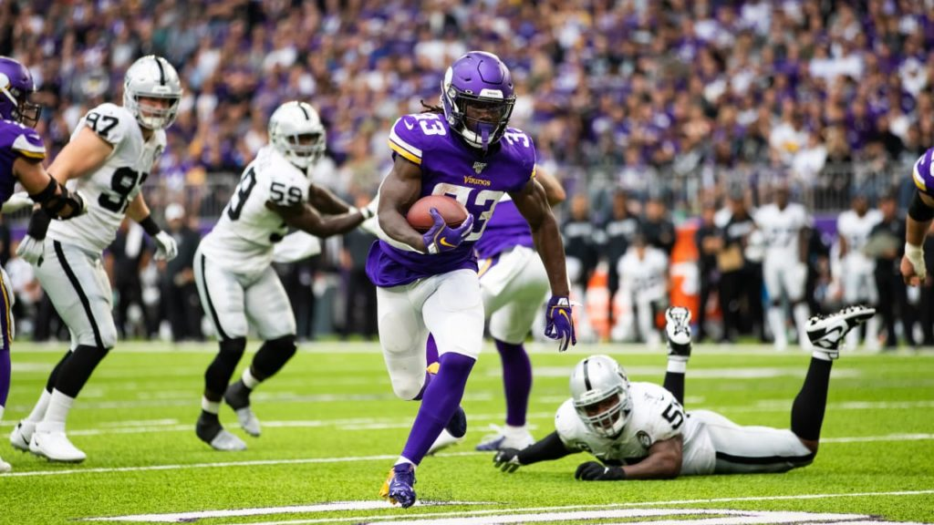 Vikings O, Eagles D On The Offensive With Running...
