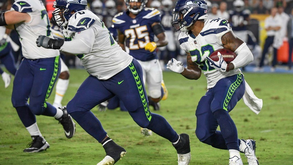 Seahawks injured starters on offensive line...