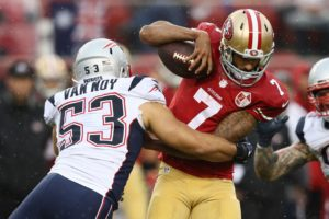 Why Patriots should attend Colin Kaepernick...