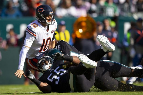 Video: Eagles Improve to 5-4, Top Bears 22-14 in...